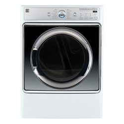Kenmore Smart 9.0 cu. ft. Electric Dryer with Accela Steam Technology in White – Compatibl ...