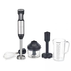 Cuisinart CSB-100 Smart Stick Variable Speed Hand Blender, Stainless Steel