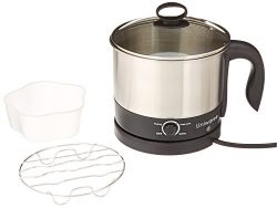"""Uniware 70019 1.2 LT S.S304 Electric Cooker W. Rotating Base, 8.7"""" x 6.7"""" x 7′ ..."""