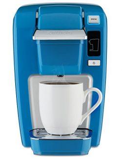 Keurig K15 Single Serve Compact K-Cup Pod Coffee Maker, True Blue