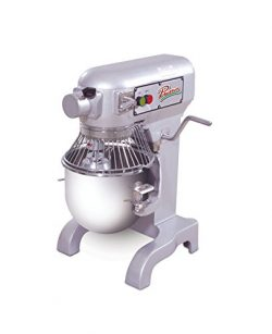 PRIMO PM-10 Stainless Steel Mixer, 10 quart Capacity, 13″ Width x 30″ Height x 15 ...