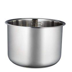 COSORI 6QT Pressure Cooker Inner Pot, Stainless Steel
