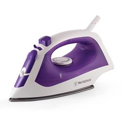 Westinghouse Pro-Series Steam Iron with 5.1 Ounce Water Tank, 1200 Watts, 3-Way Auto-Off Safety  ...