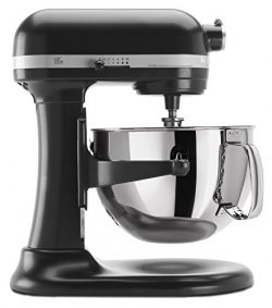 KitchenAid KP26M1XLC 6 Qt. Professional 600 Series Bowl-Lift Stand Mixer – Licorice