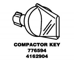 Whirlpool Part Number 4162904: Key, Switch