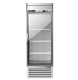 Maxx Cold MXSR-23GD One 1 Glass Door Reach-In Upright Commercial NSF Refrigerator Cooler – ...