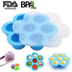 Y-STOP Silicone Egg Bites Mold for Instant Pot Accessories – Suitable for Homemade Baby Fo ...