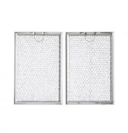 Duraflow Replacement 2-Pack Grease Filter for Many GE Microwaves (WB06X10359, WB06X10654, WB06X1 ...