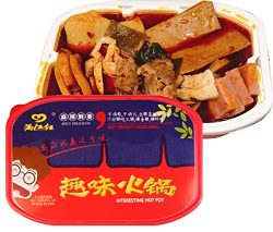 满江红 趣味火锅 方便随身锅 MANJIANGHONG Instant Spicy Hot Pot Comdiment (Vegetable oil) 麻辣鲜香396g