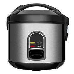 Small Rice Cooker Food Steamer, Home Gizmo 5-Cup (Uncooked) Mini Rice Cooker Multi-Food Steamer  ...