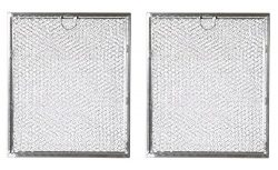 Replacement Microwave Grease Filter For GE General Electric Hotpoint WB6X486 – 2 Filters