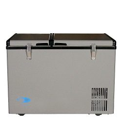 Whynter FM-62DZ Dual Zone Portable Refrigerator/Freezer, 62-Quart