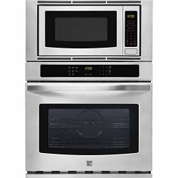 Kenmore 49603 27″ Microwave Wall Oven Combination in Stainless Steel, includes delivery an ...