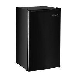 Kuppet-Mini Refrigerator, 4.6 Cu Ft Fridge, Compact Refrigerator-for Dorm, Garage, Camper, Basem ...
