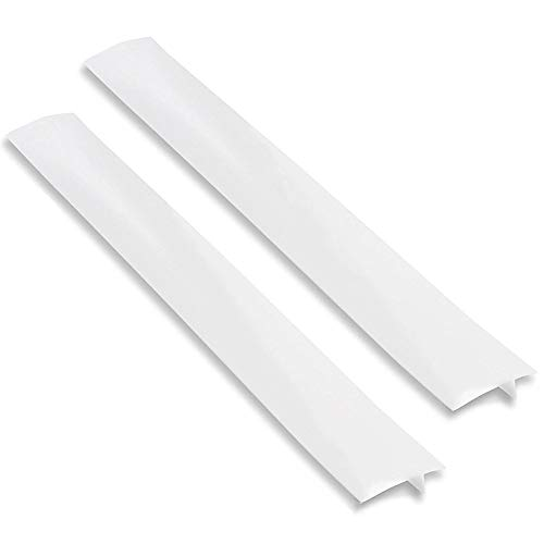 Stove Counter Gap Cover KINDPMA 2 Pack Silicone Stove Gap Filler Cover Spill Guard Seals for Sto ...