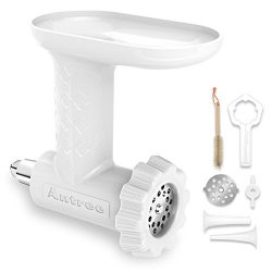Antree Food Grinder and Sausage Filler Tube Attachment for KitchenAid Stand Mixer