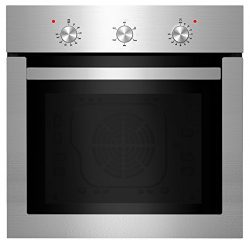 Empava 24″ Push Buttons Electric Built-in Economy Under-Counter Stainless Steel Single Wal ...