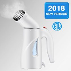 Homitt Handheld Clothes Steamer, Portable Travel Steamer for Clothes Wrinkle Remover with Automa ...