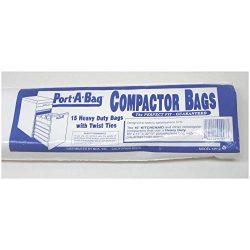 Port-A-Bag KW12 Trash Compactor Bags 15 Bags