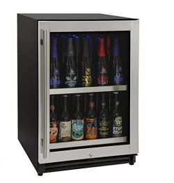 Kegco VSCB-24SSRN 24″ Wide Undercounter Craft Beer Center Bomber Refrigerator