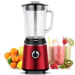 Professional Blender, Smoothie Blender, Household Blender, Mixer Grinder with 1.5 L Glass Jar by ...