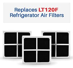 3-pack LG LT120F Compatible Air Filters – Fits LT120F And ADQ73214404 Refrigerator Air Fil ...