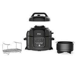 Ninja Foodi 1400-Watt Multi Cooker, Pressure Cooker, Steamer & Air Fryer w/ TenderCrisp Tech ...