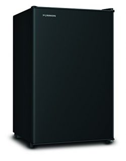 Furrion 424715 Matte Black Finish 4 cu. ft. Compact Mini RV Refrigerator