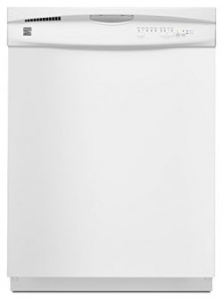 Kenmore 2217382 24″ Built-In Dishwasher, White
