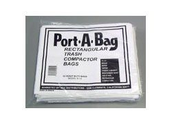 Port-a-Bag Compactor Bags – fits Broan, Roper and other Rectangular -12 bags