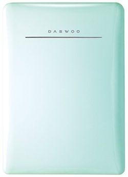 Daewoo Retro Compact Refrigerator, 2.8 cu. ft., Mint