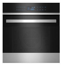 Empava 24″ 9 Cooking Functions Electric LED Digital Display Touch Control Built-in Convect ...