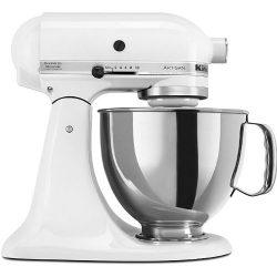 KitchenAid RRK150WH  5 Qt. Artisan Series – White (Certified Refurbished)