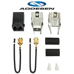 Aodesen 330031 Range Top Burner Receptacle Kit for Whirlpool & Kenmore – Replaces 8143 ...