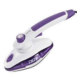 Steam Iron, DEO Clothes Steamer 1000W 2 in 1 Handheld Garment Vertical Steam Iron for Home and T ...