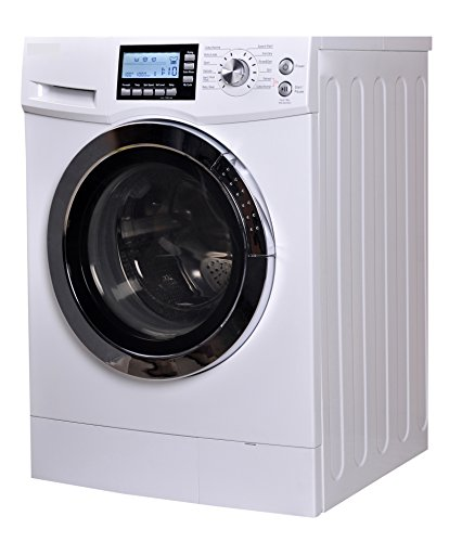 RCA RWD200 2.0 Cubic Feet Front Loading Washer and Dryer Combo, White