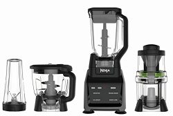 Ninja Blender/Food Processor with Intelli-Sense Touchscreen, 1200-Watt Smart Sensor Base, Spiral ...
