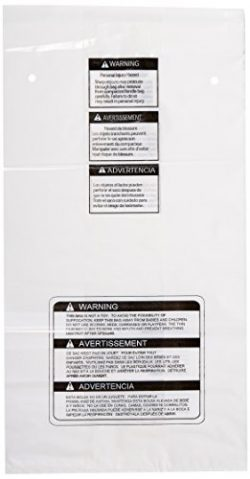 GE APPLIANCE PARTS WC60X10005 Compactor Bags – Box of 15 In. Heavy Duty Square Compactor B ...