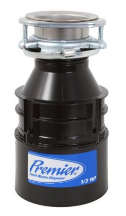 Premier 143053 1/3 Horsepower Food Waste Disposer
