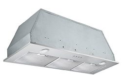 Ancona Inserta Plus Built-In Range Hood, 36-Inch, Stainless Steel