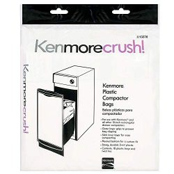 Heavy Duty Trash Compactor Bags – 60 Count – Fits All 15-inch Rectangular Drawer Com ...