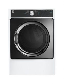 Kenmore Smart 81782 7.4 cu. ft. Electric Dryer with Accela Steam, White