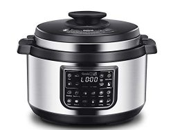Geek Chef 8 quart OVAL shape multi-functional electric pressure cooker.New technology,designed w ...