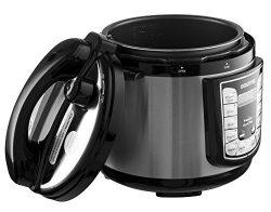 Gourmia GPC400 Digital Multi-Mode SmartPot Pressure Cooker | 13 Cook Modes | 4-Quart Removable P ...