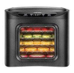 Chefman Food Dehydrator Machine, Electric Multi-Tier Food Preserver, Meat or Beef Jerky Maker, F ...