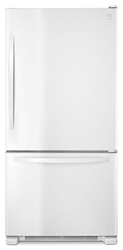 Kenmore 79342 22 cu. ft. Wide Bottom Freezer Refrigerator in White, includes delivery and hookup