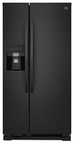 Kenmore 51759 21 cu. ft. Side-by-Side Refrigerator, Black