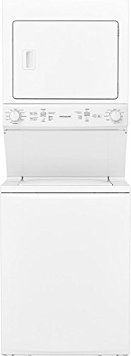Frigidaire FFLG3900UW 27 Inch Gas Laundry Center with 3.9 cu. ft. Washer Capacity, in White