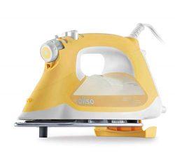 Oliso TG1600 Smart Iron with iTouch Technology, 1800 Watts, Butterscotch