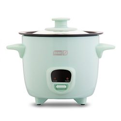 Dash DRCM200GBAQ04 Mini Rice Cooker Steamer with Removable Nonstick Pot, Keep Warm Function & ...